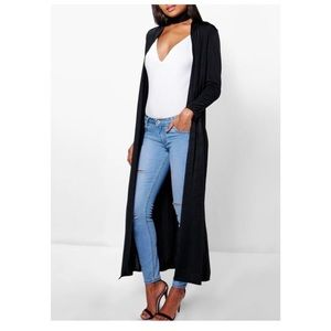 Black Duster with detached choker